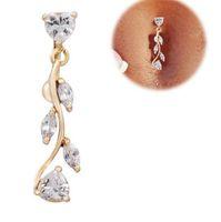 Bell JewelryBell Joyas Joyas Joyas De Oro Dedge Botón Botón Body Piercing Invierte Sexy Naavel Anillos Drop Entrega 2021 Kryli