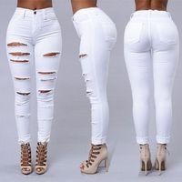 Женские джинсы вышивка роскошные высочайшее качество Большой двор темно-синие брюки джинсовая одежда 2021 размер S 2XL
