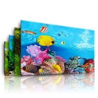 Aquarium Background, 3d Stickers, Posters, Fish Tanks, Background Accessories, Marine Plant Decoration, Waterscape Painting.