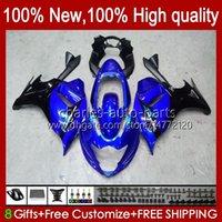 Lichaam voor Suzuki Katana GSXF 650 GSXF650 GSX650F Glanzende blauwe carrosserie 18HC.48 GSX-650F 2009 2009 2010 2011 2012 2013 2014 GSX 650F GSXF-650 08 09 10 11 12 13 14 FACKING