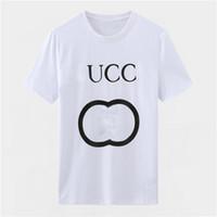 Moda Erkek Tasarımcılar T Gömlek Yaz T Gömlek Yüksek Kalite Erkek Stylist T Gömlek Hip Hop Erkekler Kadınlar Siyah Kısa Kollu Tees W78