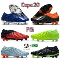 2022 Top Copa 20 fg calcio tacchetti scarpe da uomo calcio stivali da calcio argento attivo attivo rosso bianco triplo volt mens sneakers formatori US 6.5-11