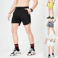 Calções Homens Casual Sportswear Seco Rápido Respirável Sweat shorts Ginásio Mens Sweatshorts RunningJogger Summer Beach 2021 Novo