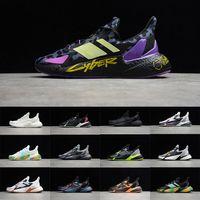 2021 أحدث 36-46 أعلى مستويات الجودة م م q9000l4 c4 مصمم الرجال أحذية النساء chaussures المتسكعون الرياضة الجري مارتن منصة أسود ويشي الأسود