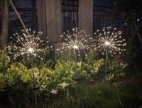عيد الميلاد الشمسية العشب الألعاب النارية ضوء الهندباء أضواء سلسلة في الهواء الطلق للماء كريستما الديكور مصباح