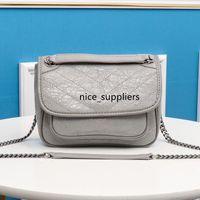 Bovini Borsetta Chian Crossbody Bag Borsa Donne Borsa Fashion Plain Plain di Alta Qualità Impianti di alta qualità Impugnatura in vera pelle Hasp