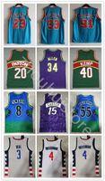 23 Vince 15 Carter Basketball Jersey Scottie 33 Pippen Dennis 91 Rodman Retro Ray 34 Allen Duncan Hill 8 Steve Smith 55 Mutombo 3 Becher 4 Westbrook Jersey