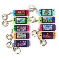 Cartoon keychains 2021 Mari Game Animal Crossing Keychain Switch Car Keyring Charm Bag Pendant Fashion acrylic Key Chains