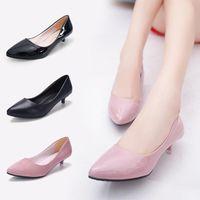 Boots Pumps Woman Shoes 2021 High Heels Women Office Stiletto Suede Ladies Basic Pump Footwear NVXUE61