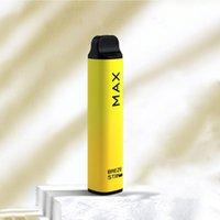 2021 Breze Stiik Max Disposable Vape 1800 Puffs Electronic Cigarette Device Vapes Pen E Cigarettes 950 mah Battery Pre-filled 6ml Pod popular 8 Colors vs gunnpod