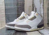 DH3434-110 a ma maniere x 3 أحذية كرة السلة البيضاء عالية الجودة 12 فائدة الرجال في الهواء الطلق أحذية رياضية الحجم 7 ~ 13 مع مربع