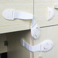 Cerradura de seguridad de bebé Adhesivo Door Armboard Gabinete Frigorífico Cajas de seguridad FWD10112