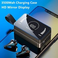 Wholesale TWS Earphone For All Smart Phone Sport Music Gaming Headphones Stereo Earbud 5.1Wireless Bluetooth Earphones In-ear Headsets with Charging Box
