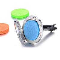 Hohl Aromatherapie Auto Clip Muttertag Geschenk Auto Air Outlet Parfüm Clip Ätherisches Öldiffusor ohne Pads KKA3805