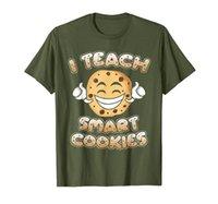 قميص مدرس مضحك وأعلم قميص الكوكيز الذكي Nerd Tee T-Shirt
