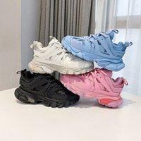 Mode Paris Freizeitschuhe Luxus Plattform Sneaker Release 3.0 TESS S MEN GOMMA MAILLE BLACK WHITE rot grün Frauen Triple Clunky Sneakers Designe