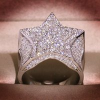 Real S925 Sterling Silver 2 Carats Natural Moissanite Ring for Women Hip-Hop Men Anillo De Silver 925 Jewelry Rings De Bizuteria