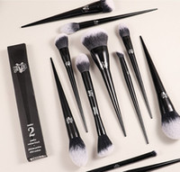 Hot Makeup Щетка Kat Von D Профессиональные кисти порошок Фонда Blush Make Up Щетки для теней для теней для теней для теней для теней для теней для теней для век