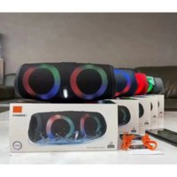 Charge 5 Bluetooth Speaker RGB Charge5 Portable Mini Wireless Outdoor Waterproof Subwoofer Speakers Support TF USB Card