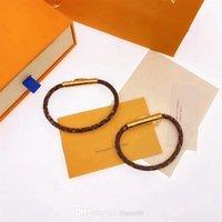 Groothandel Stone Bangle Rvs Designer Love Armbanden Rose Gold voor Vrouwen Mannen Schroef Schroevendraaier Luxe Armband Paar Sieraden Vrouw Met Originele Tas