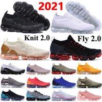 2021 новейшие вязаные 2 .0 кроссовки летают 1 .0 Трехместный черный CNY мужские кроссовки подушки кроссовки женщин дышащий пробег размером 36 -45