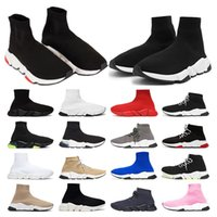 Çorap ayakkabı erkek kadın Luxurys Tasarımcılar platformu spor ayakkabı Bej Sarı Fluo Siyah pembe Whit kırmızı Neon Düz moda vintage spor moda