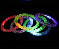 2021 Giocattoli per bambini Wholale LED Braccialetto luminoso Braccialetto luminoso Concerto Perline Perline Flash Bubble Flash Perline e BUBBL Interactive XZ951TFDH
