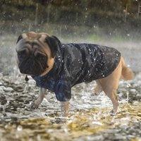 PET LOCK CULTUCK CAMOUFLAGE CAMABA DE LA LLUVIA ABAJO A prueba de agua Chaqueta al aire libre para pequeños perros grandes Ponchog Bulldog Labrador 201015