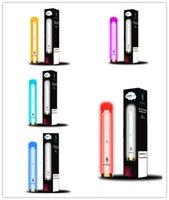 Original E-TABOO RGB Light Glowing Disposable E cigarettes Device Kit vape 1000 Puffs 3.5ml pod 600mah battery 12 Colors VS Randm Elf Pro MAX