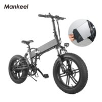 Manchelo MK011 Bicicleta Elétrica Dobrável Smart Scooter 20inch 10.4ah 500 W Potência LED luz E-Bicicleta Esportes Mountain Bikes Polónia Entrega rápida