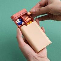 NewRemovable Separador Caixa de Medicina Plástico Custom Custom Vitamina Diário Pílula Armazenamento Capsule Capsule Medicinas Pills EWA6455