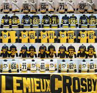 2021 обратный ретро хоккейные изделия 66 Mario Lemieux 87 Sidney Crosby 71 Evgeni Malkin 59 Jake Guentzel 58 KRIS LETANG 16 Джейсон Цукер Джерси
