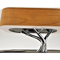 Multifunción LED Lámpara de mesa Altavoz Auto Sleep Teléfono móvil Inalámbrico Cargador Árbol Diseño Decoración del hogar