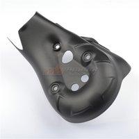 Moto Noir Échappement arrière Couvercle de tuyau d'échappement pour Ducati 1199 Panigale / Superbike 2012-2014 Fibre de carbone 100%