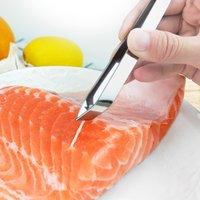 스테인레스 스틸 Fishbone Tweezers Pliers 클립 추출기 Pliers Fishbone Picking 클립 주방 가제트 DHL 무료 배송