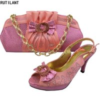 Dress Shoes Arrival Italian Ladies And Bags To Match Set Bag African Sets 2021 Nigerian Women Wedding