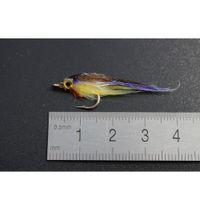 Tigofly 12 шт. Коричневый оливковый ультрафиолетовый полярной жарку медленно тонущая лосося форель стали Minnhead рыболовство FLIE JLLXWA SPORTS77777