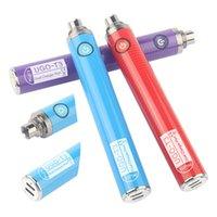 Ugo-T3 510 Thread-Verdampfer-Batterie-Variablenspannung EVOD-Vorheizungs-Vape-Stift mit Dual-Ladegerät-Port-Plug für dicke Öl-Vape-Kartuschen