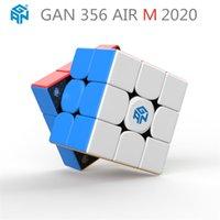 Gan 356 Air M 3x3 المغناطيسي ماجيك مكعب المنافسة سرعة المكعب 3x3x3 لغز cubo magico gan356 الهواء m gan 356 cube 210804