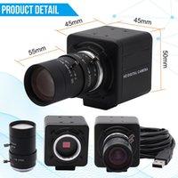 4K USB Camera 3840x2160 30fps Sony IMX317 Sensor HD Webcam with Manual Zoom Varifocal Lens for Document Scanning