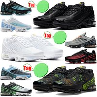2020 tn plus 3 men women running shoes triple white Black Iridescent Crimson Red Laser Blue Deep Royal mens trainers sports sneakers runners