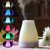 100ml Oil Diffuser Aroma Cool Mist Humidifier with Adjustable Mist Mode,Waterless Auto Shut-off and 7 Color LED Lights Changin