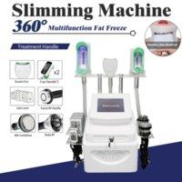2021 cryolipolysis slimming machine with 3 Cryo Handles radio frequency lipolaser cavitation body slim beauty equipment