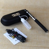EGo CE4 kit Electronic cigarette ugo T 900mAh battery 1.6ml atomizer vape pen kits with USB Charger Zipper case e-cigarettes