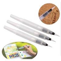 Farklı Boyut Doldurulabilir Kalemler Renk Kalemler Mürekkep Kalem Mürekkep Yumuşak Suluboya Fırça Boya Fırçası PA Jlluoh Yummy_Shop