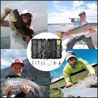 Sport Outdoorset of Fishing Asresores Kit einschließlich Jig Tackle Box Snaps Swivels Sinker Gewichte Haken mit A6O2 H7z1 Drop Lieferung 2021