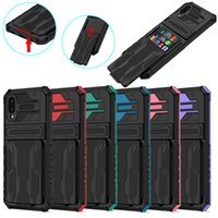 Detachable Card Bag Cell Phone Cases For Samsung Galaxy A02 M02 A12 M12 A32 A42 A52 A72 A22 M32 A03S A02S A10S A20S A21S A51 A31 Shockproof Hard Shell Back Cover