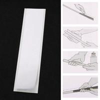 Ayudas de entrenamiento de golf 13 unids / conjunto Club de doble cara Tiras de cinta adhesiva fuerte de adherencia para el conjunto de agarre 22 * 5 cm de caucho