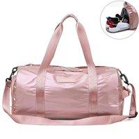 Duffel Bags Fashion Yoga Duffle Tote Women Men Dry Wet Sport Shoulder Bag Waterproof Large Travel Weekend Luggage Suitcase S051