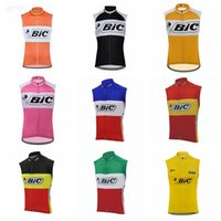 BIC Team Cycling Stickey Jersey Gilet Pro Bike Mtb Ropa Ciclismo Men Summer Summer Style Bike By Abbigliamento Bicicletta senza maniche Vest S030919
